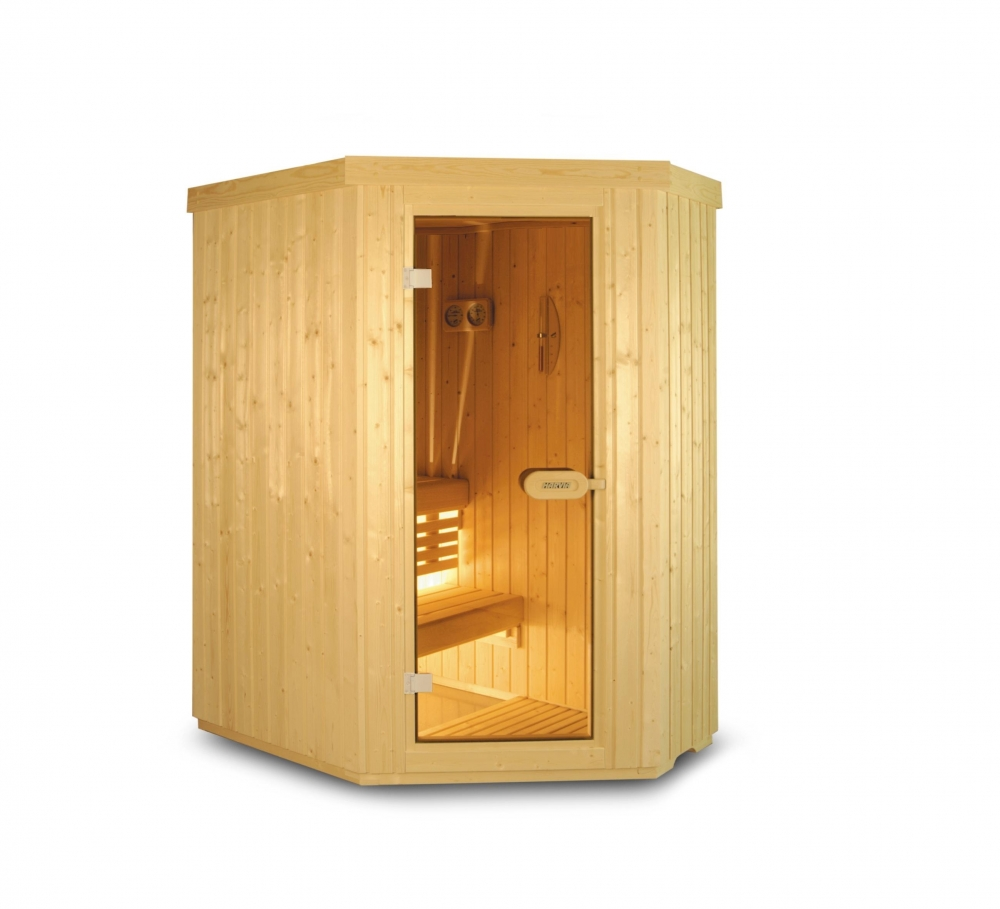 Sauna traditionnel 2 places - Vente de saunas pros et privés